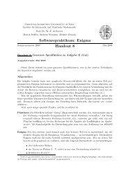 Aufgabenstellung 2 - Institut für Informatik - Christian-Albrechts ...