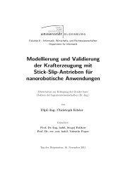 Modellierung und Validierung der Krafterzeugung mit Stick-Slip ...