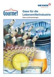 Gase für die Lebensmittelindustrie - Messer Schweiz AG
