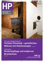 Tschüss Feinstaub – gemütliches Wohnen mit Holzheizungen ... - VHP