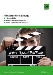 Folder Filmakademie.pdf (2218 kB) - WIFI Salzburg