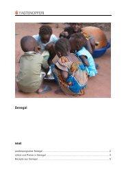 Senegal - Fastenopfer
