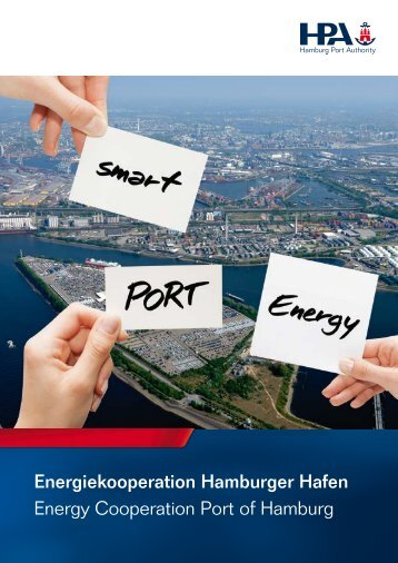 Broschüre SmartPORT Energy - Hamburg Port Authority