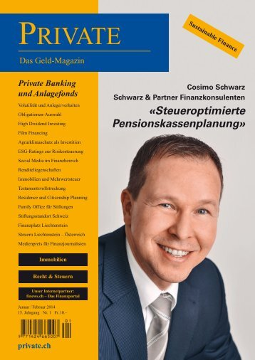 Medienpreis Sonderheft 2014 - Private Magazin