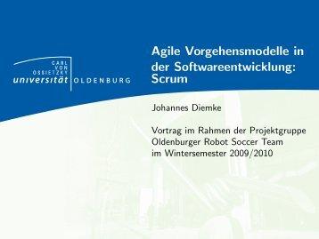 Agile Vorgehensmodelle in der Softwareentwicklung: Scrum