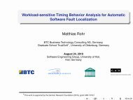 Workload-sensitive Timing Behavior Analysis for Automatic Software ...