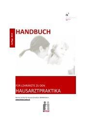 Handbuch 2013 (pdf, 736KB) - Berner Institut für Hausarztmedizin ...