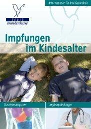 Impfungen im Kindesalter - Freie