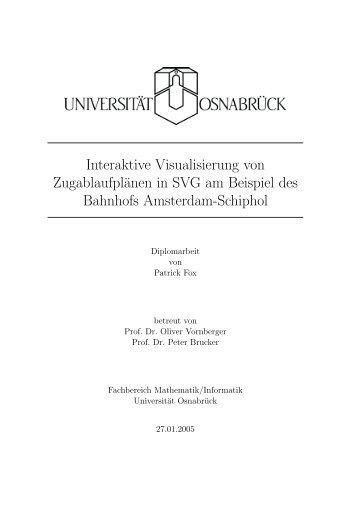 Die Arbeit als PDF - Institute of Computer Science - Universität ...