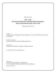 WS 2013/14 - Info - online: Das Informationsblatt der ...