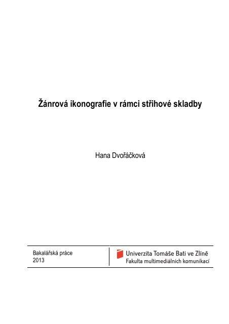 Šablona -- Diplomová práce (fmk) - DSpace UTB 5d815481e80
