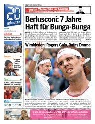Berlusconi: 7 Jahre Haft für Bunga-Bunga - 20 Minuten