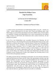 Botschaft zum Weltfriedenstag 2014 [PDF]