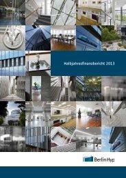 Halbjahresbericht 2013 - Berlin Hyp