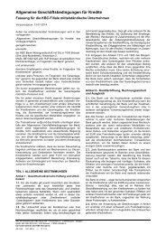 AGK Fassung KBC-Filiale mittelständische Unternehmen