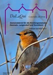 Gemeindebrief DaLaQui April bis Juni 2013 - Evangelisch im ...