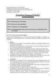 Protokoll zur Sitzung am 07.06.2013: Lehrbuchdidaktik