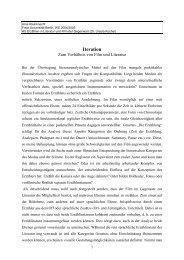 Iteration - Freie Universität Berlin