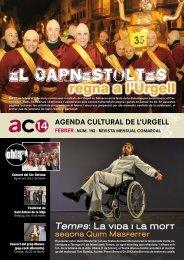 Agenda Cultural Febrer 2014