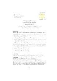 zehntes Blatt - Universität Trier