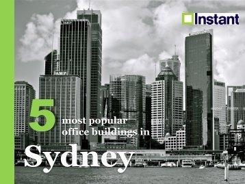 Most Popular Office Buildings in Sydney.pdf