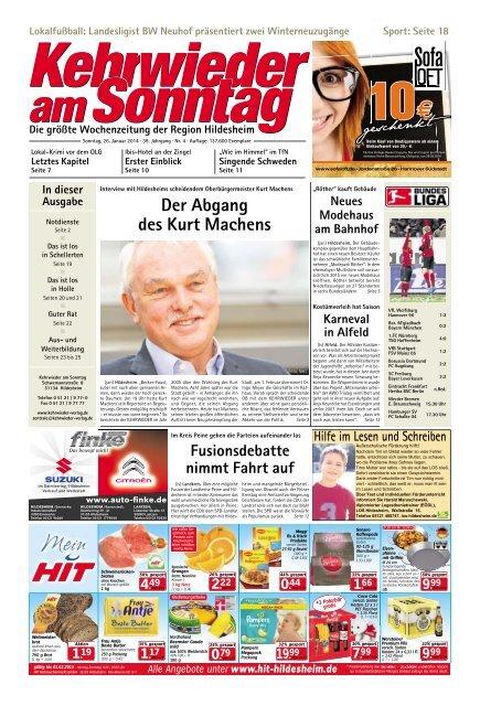 Aktuelle Ausgabe lesen Kehrwieder am Sonntag