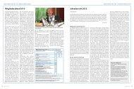 Mitgliederabend 2013 Jahresbericht 2012 - München und Oberland