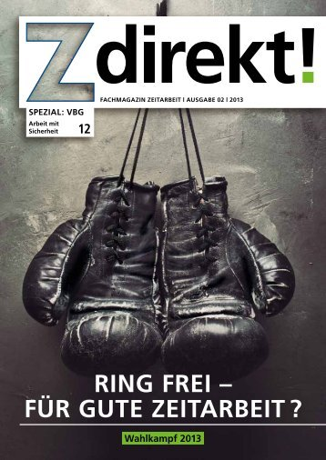 Z direkt! Ausgabe 2/2013: