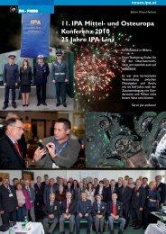 11. IpA Mittel- und Osteuropa Konferenz 2010 25 Jahre IpA Linz