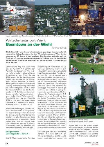 Boomtown an der Wiehl - Oberbergische Impulse