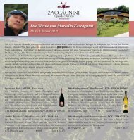 Die Weine von Marcello Zaccagnini - Castel Cosimo