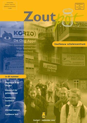 Zoutpot nr. 29 - september 2005 - Stad Zoutleeuw