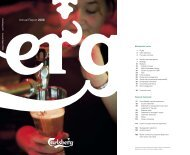 Download the Annual Report 2006 as a pdf file (2 ... - Carlsberg Group