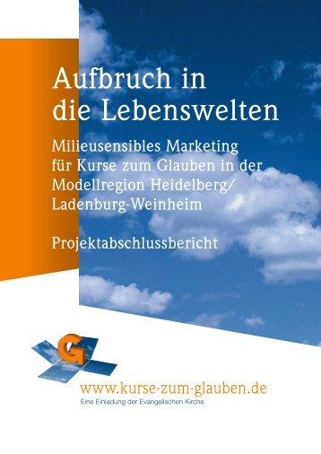 Auswertungsbericht - Evangelische Landeskirche in Baden