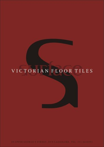 VICTORIAN FLOOR TILES - Surface Bathrooms