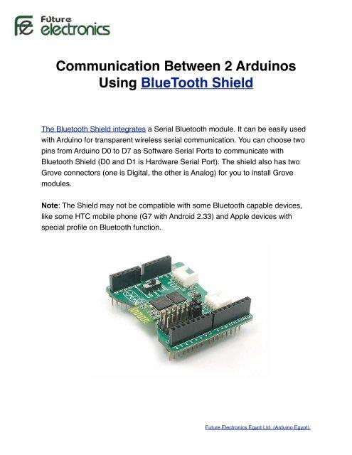 Communication Bet 2 Arduino using Bluetooth - Arduino Egypt