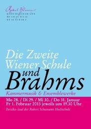 Programm als PDF - Robert Schumann Hochschule Düsseldorf