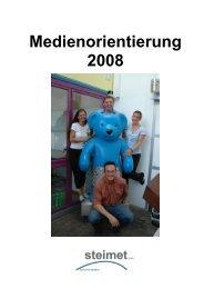 steimet Presseinformation 2008 - Wetter.ch