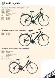 Trekkingräder - Zweirad Schwarz