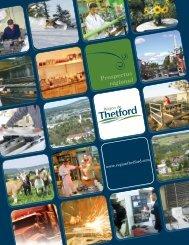 Prospectus régional - SDE région de Thetford