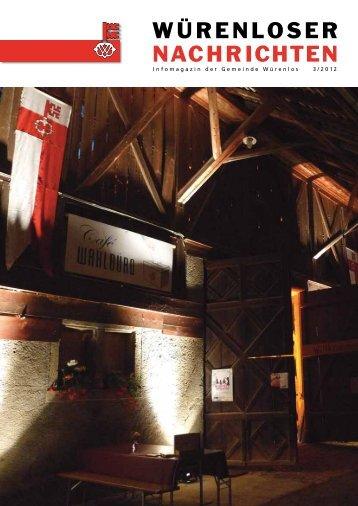 Würenloser Nachrichten 3/2012 - Gemeinde Würenlos