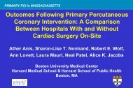 Primary percutaneous coronary intervention - ACC/AHA Guidelines ...
