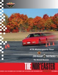 December 2008 - Porsche Club of America – Northeast Region