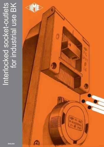 Interlocked socket-outlets for industrial use BK - Ilme SpA
