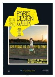 05/07/2013 - Paris Design Week
