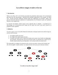 Suite arbre 2 - UQAC