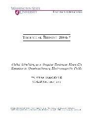 Department of Mathematics Technical Report 2004-X Global ...