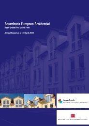 Bouwfonds European Residential - Catella Real Estate AG