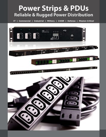 Power Strip Mini Catalog - Power Solutions by API Technologies