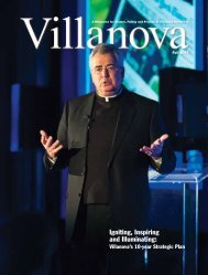 Igniting, Inspiring and Illuminating: - Villanova University